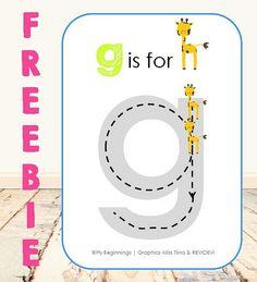 Letter G Freebie Image