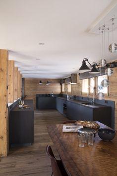 Cuisine, Décoration, Architecture Du0027intérieur, Montagne, Alpes, Kitchen,  Home Design, Mountain, Alps