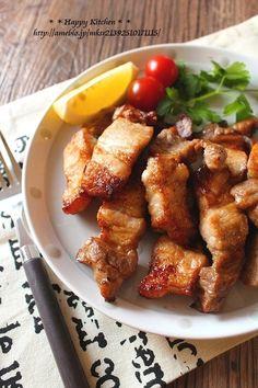 魚焼きグリルで!豚バラ肉のレモンガーリックグリル焼き |たっきーママ オフィシャルブログ「たっきーママ@happy kitchen」Powered by Ameba