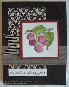 The Inky Scrapper: Stamp of the Month Blog Hop: July's Sweet Life