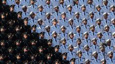 - Desfile militar na Praça Tiananmen, em Pequim, para marcar o 70º aniversário do fim da Segunda Guerra Mundial. Foto: Greg Baker / AFP