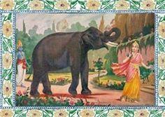 Story of Lord Venkateswara - Part 2 (How Lord Venkateswara happen to meet Padmavati) King Ravana, Bhagavata Purana, Wild Elephant, Moral Stories, Lord Vishnu, Stories For Kids, Mythology, Indian, History