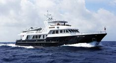 Raised Pilothouse Explorer Boundless, a Jon Overing design, built by Inace with All Ocean Yachts on sea trials. Big Yachts, Luxury Yachts, Explorer Yacht, Expedition Yachts, Yacht Interior, Pipe Dream, Yacht Boat, Yacht Design