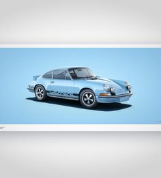 Colors of Speed – Porsche Carrera RS Blue