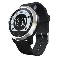 F69 Sport Smart Watch IP68 Fitness Tracker Bracelet Heart Rate Sleep Monitor Swimming Smart Wristband For IOS Android (Black). For IOS 8.0 Android 4.3 above smartphones. Support pedometer,swimming, heart rate, sleep monitor, alarm alock, notice, call remider IP68 waterproof. Waterproof IP68. As a smartphone companion and sports partner, it is the best product for yourself and your friends. 2 pieces watch straps.