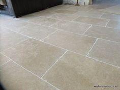 Dijon Tumbled Limestone B Limestone Patio, Limestone Flooring, Fig Tree, Cottage Interiors, Kitchen Flooring, Tile Floor, New Homes, Home Decor, Floors