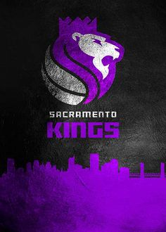 "Beautiful ""Sacramento Kings Skyline metal poster created by AB Concepts. Ab Concept, Skyline 2, Damian Lillard, Anthony Davis, Sacramento Kings, Russell Westbrook, Kyrie Irving, Basketball Teams, Kobe Bryant"