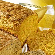 Kürbisbrot - Rezept für den Brotbackautomat Rezept | Küchengötter
