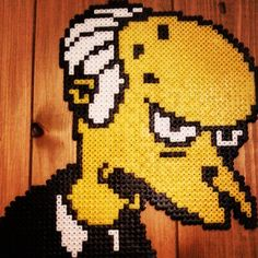 Mr Burns The Simpsons perler beads by beadwarriors