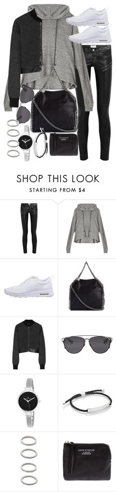 """""""Untitled #18910"""" by florencia95 ❤ liked on Polyvore featuring Yves Saint Laurent, LnA, NIKE, STELLA McCARTNEY, Alexander Wang, Christian Dior, Christian Van Sant, Monica Vinader, Forever 21 and Acne Studios"""