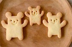 Cookies. 三匹くまクッキー♡