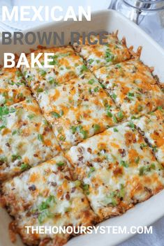 Brown Rice Bake – Gluten Free Mexican Brown Rice Bake – Gluten Free Recipe on Yummly. Brown Rice Bake – Gluten Free Recipe on Yummly. Gf Recipes, Mexican Food Recipes, Vegetarian Recipes, Dinner Recipes, Cooking Recipes, Healthy Recipes, Chicken Recipes, Shrimp Recipes, Dinner Ideas