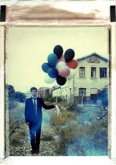 """""""Magic is a gift for the Lonely Souls"""" by emilie79* @flickr #polaroid #balloons"""