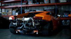 Lamborghini drops its pants and flashes us the goods.