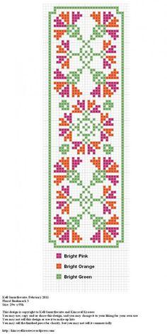 Floral Bookmark 3