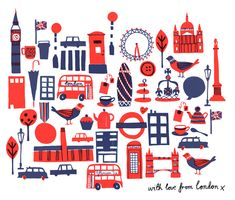 London illustrations