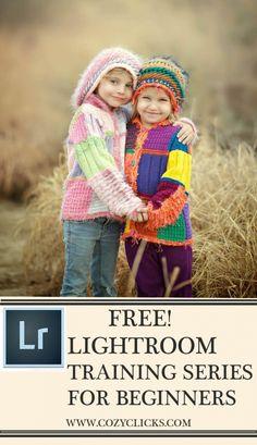 Free Lightroom Training Series fo Beginners