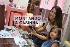 Casinha da Barbie de 3 andares + sóton em Madeira MDF - Dos sonhos!