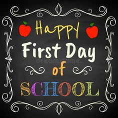 First Day of School royalty free illustration First Birthday Candle, Free Vector Images, Vector Free, School Images, First Day School, Congratulations To You, Wedding Etiquette, Custom Gift Boxes, Free Illustrations