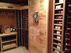 A custom mahogany wine cellar from WineRacks.com