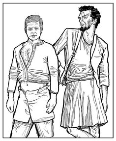 Study in cross dressing for JFK and Lincoln from Miserable Americans book 3.