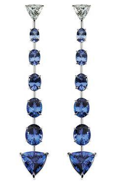 Se bästa smycken för Cool Winters på: www.truth-is-beau …}} tanzanite smycken … Jewelry Accessories, Jewelry Design, Jewelry Trends, Tanzanite Earrings, Turquoise Jewelry, Jewelry Stores, Fine Jewelry, Cheap Jewelry, Jewelery