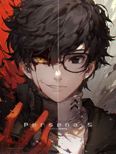 Anime Guys since you all keep saying that i look like this guy well here you go a fanart of myself (all jokes aside) Joker a.a Akira Kurusu the protagonist from Persona 5 - Manga Anime, Manga Boy, Cute Anime Guys, Anime Boys, Dark Anime Guys, Dark Anime Art, Anime Fan Art, Black Hair Anime Guy, Anime Style