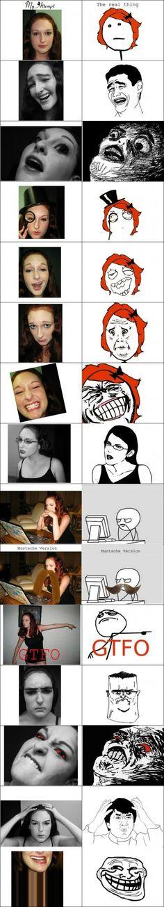 Rage Faces IRL