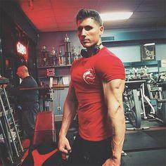 Men's Alphalete Casual Fitness Short Sleeve T-Shirt
