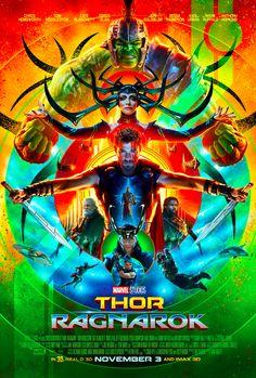 Thor 3 Movie Poster - Marvel Cinematic Universe