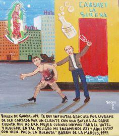 Virgen de Guadalupe, te doy infinitas gracias por impedir que  un cliente me cortara cuando comprendio que yo no era mujer
