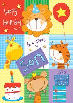 Lara Ede illustration: Various birthday cards