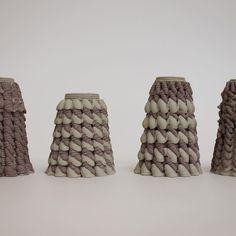 3D printing with two materials! #material-test #3dprinting #ceramics #3dprintingclay #dataclay #generateddesign #ekwc #Elstudio