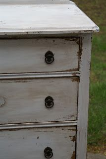 Divinely Gifted - Milk Painted Dresser Tutorial using MMS Milk Paint and Wax