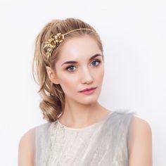 Golden Rose Headband