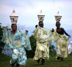 Rwanda | Intore Dancers.  Volcanoes National Park. | ©Far Horizons, via flickr