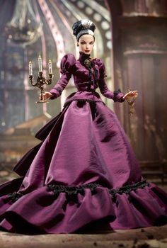 20 Weird, Insane And Extremely Disturbing Barbie Dolls - This is probably the sexiest, most-badass Barbie I've ever seen!! And that dress is pretty amazing too. :)