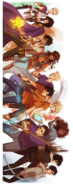 The heros of Olympus By Viria