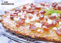 Masa de pizza de brócoli