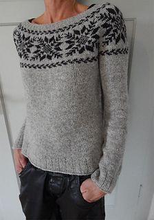 Ravelry: Millefleurs & # Bláfjöll – Awesome Knitting Ideas and Newest Knitting Models Fair Isle Knitting Patterns, Knitting Blogs, Sweater Knitting Patterns, Knitting Stitches, Baby Knitting, Ravelry, Tejido Fair Isle, Handgestrickte Pullover, Knit Cardigan Pattern