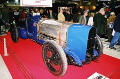 STRANGE OLDE AUTOS - 1925 SUNBEAM 350 HP SPEEDSTER