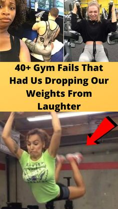 40+ #Gym Fails That Had Us #Dropping Our Weights From #Laughter Hilarious Memes, Funny Humor, Funny Stuff, Random Stuff, Online Shopping Fails, Grey Hair Transformation, Gym Fail, Latest Fashion For Girls, Tattoo Fails