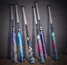 DeMarini CF9 fastpitch softball bats. Which one is your favorite? You can check out all of these models today at JustBats. We offer free shipping every day with 24/7 customer service! Don't forget, we're here from click to hit...