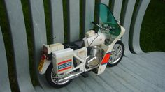 Vintage Palitoy Action Man Police Motorcycle
