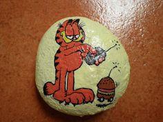 Garfield burguer-destroyer :-] #crafts