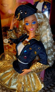 Barbie Super Talk !  1995  Superstar head mold by super.star.76, via Flickr
