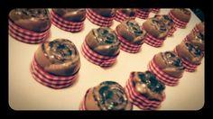 Jaboncitos de Chocolate y canela para recuerditos