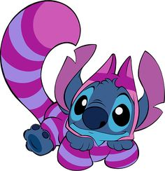 Cheshire Stitch it's my drawings thank you to people two re do all my drawings i post here so Disney Films, Disney Cartoons, Disney And Dreamworks, Cute Stitch, Lilo And Stitch, Disney Drawings, Cute Drawings, Baymax, Chesire Cat