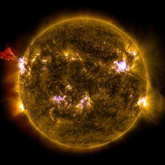 Eruption solaire de classe M : 30 photos astronomiques à couper le souffle - Linternaute.com Photo numérique