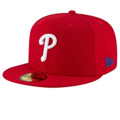 ee2a8b2d9b2 Philadelphia Phillies New Era Team Superb 59FIFTY Fitted Hat - Red